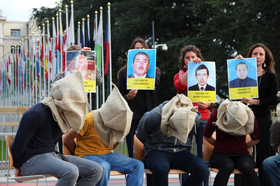 Stop Torture Action Uzbekistan, Geneva 2014